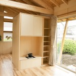 居間の造作家具